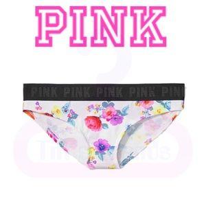 COMING•PINK•Logo Bikini•Triumph Wht Vibrant Floral